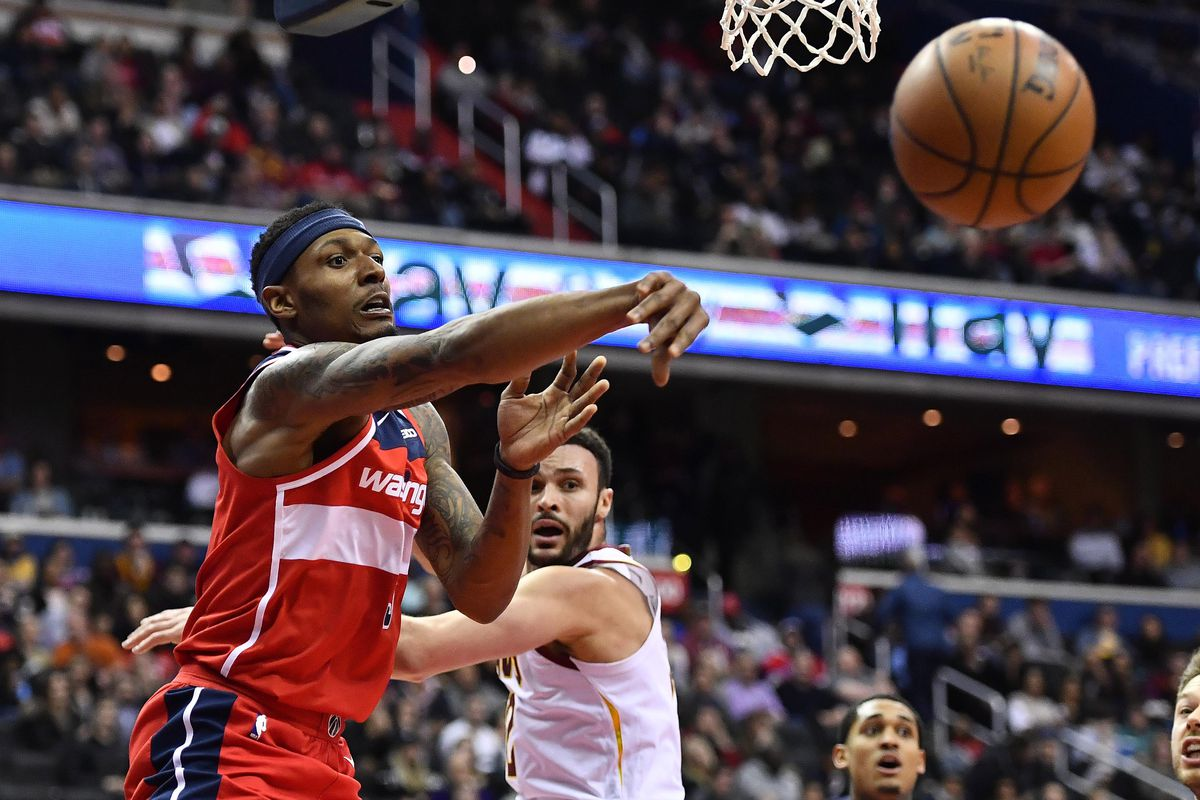 0ca6bad03ca Bradley Beal has really come into his own with the Washington Wizards in  February. Brad Mills-USA TODAY Sports