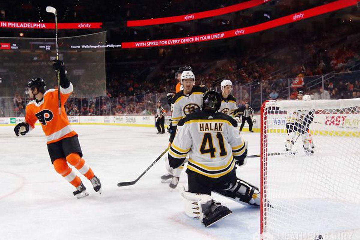 Flyers vs. Bruins recap, score, and highlights