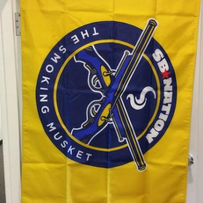 The Official Smoking Musket Flag Is Here The Smoking Musket