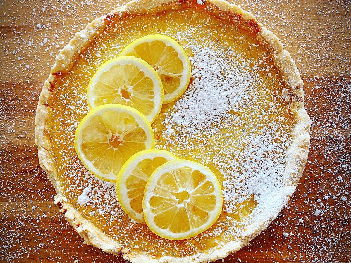 A tart from Crema