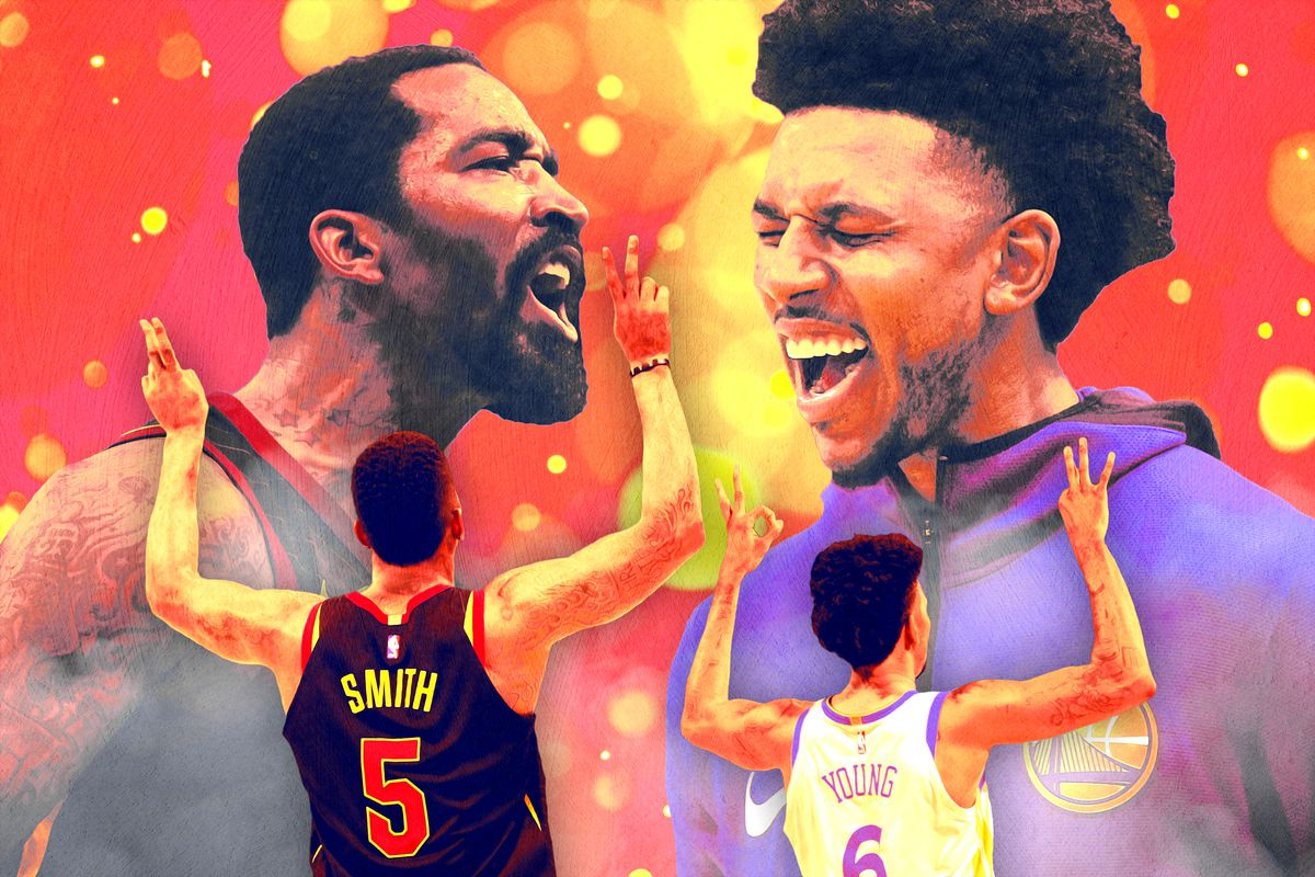 80bb8310cb5 J.R. Smith vs. Nick Young Is the Finals Matchup We ve All Been ...