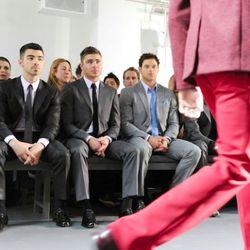 Front Row at Calvin Klein