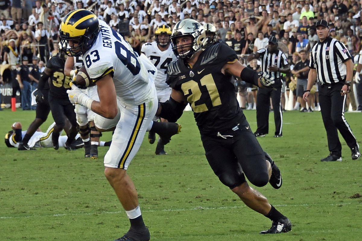 NCAA Football: Michigan at Purdue