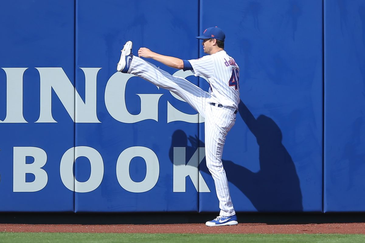 MLB: Game One-Atlanta Braves at New York Mets