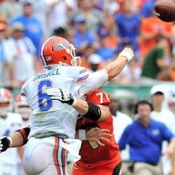 Florida's Jeff Driskel