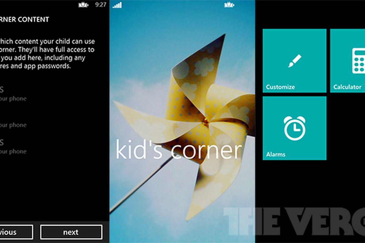 Kid's Corner Windows Phone 8