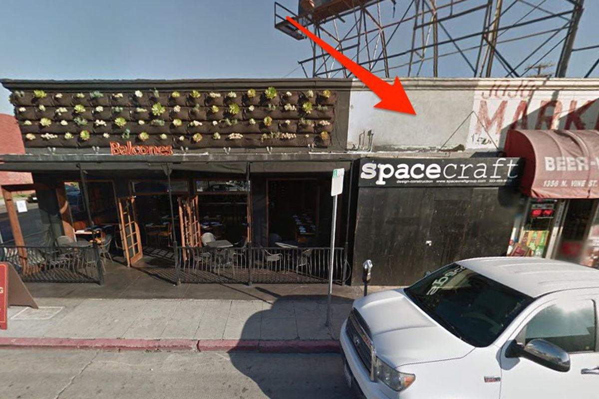 The future home of Chavela in Hollywood