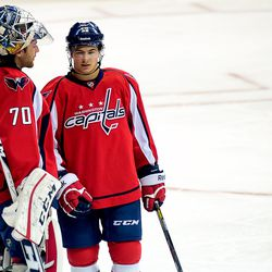 Holtby Speaks to Carrick