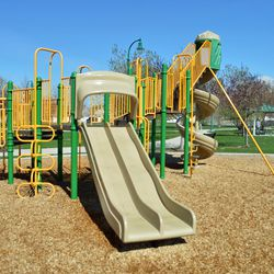 The playground at Nielson's Grove Park.