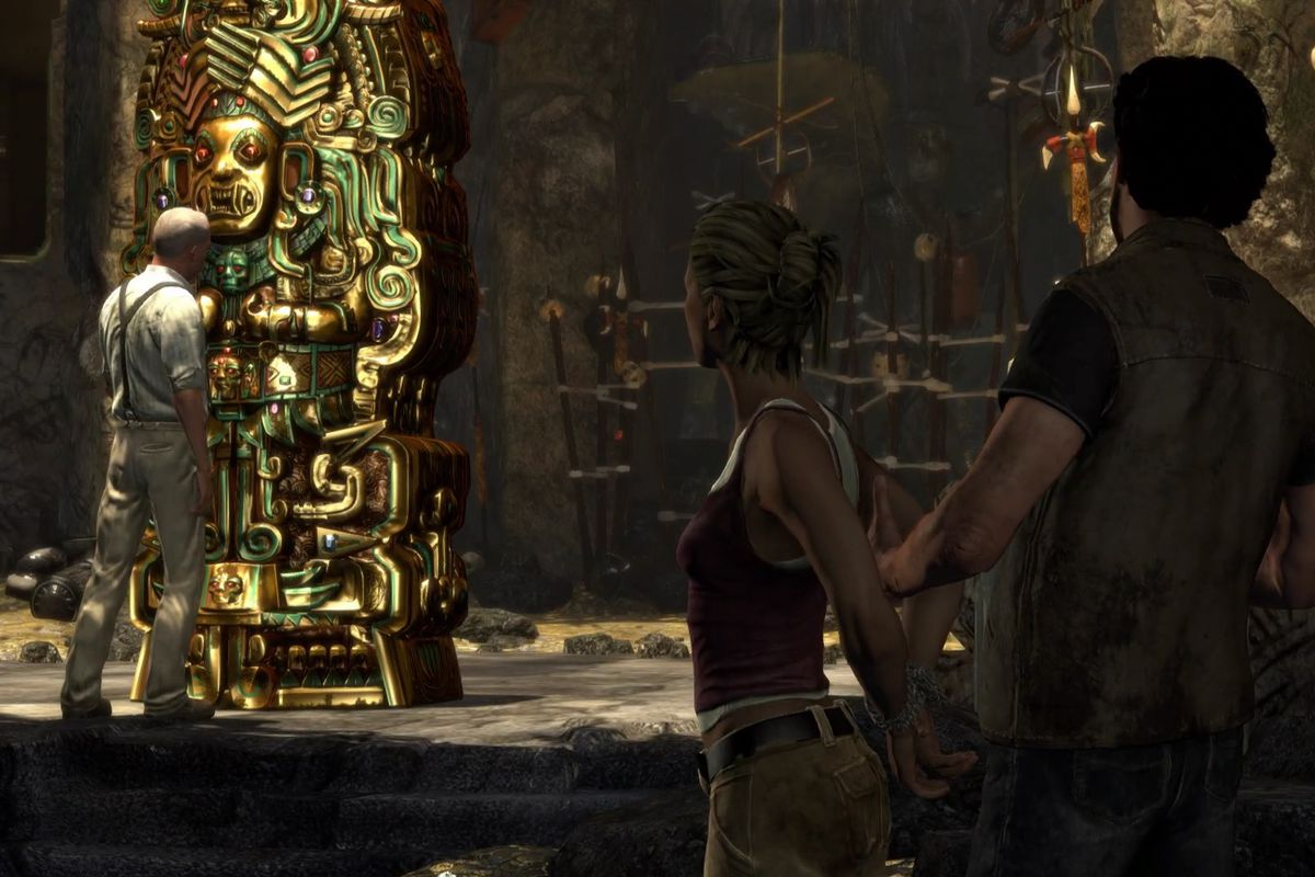 Uncharted: Drake's Fortune Chapter 21 collectible treasure locations