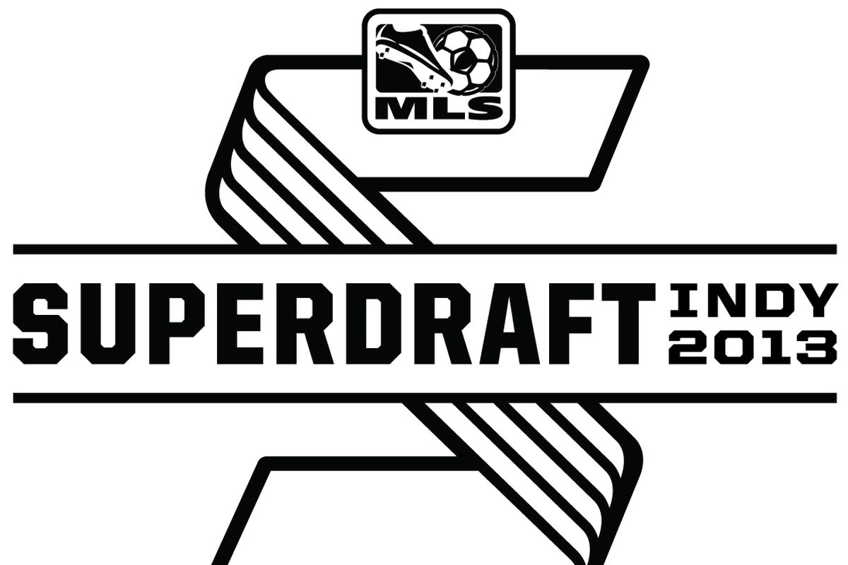 Not the most impressive SuperDraft logo this year.  Run out of money to spend on colour, MLS?