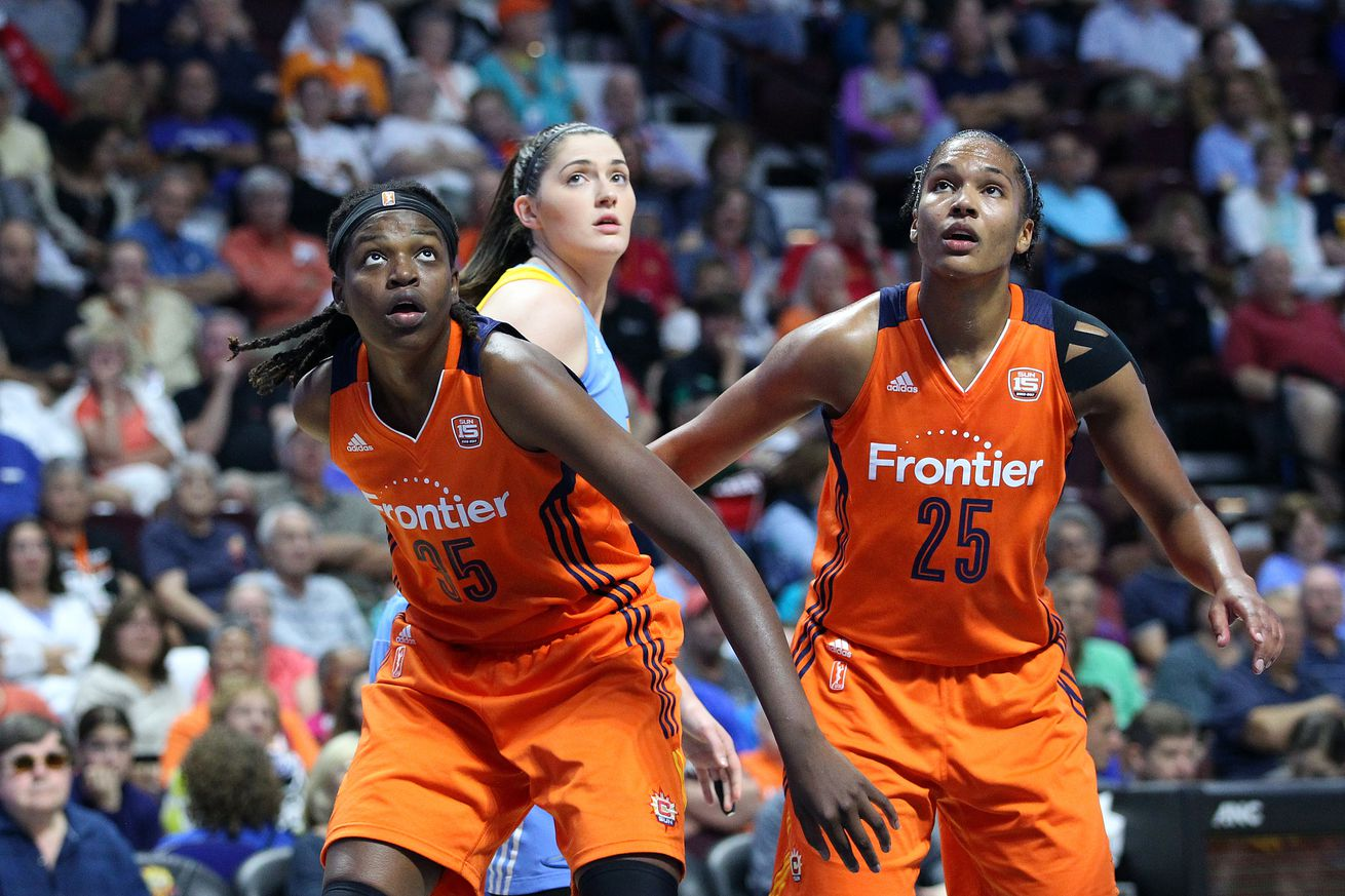 WNBA: AUG 25 Chicago Sky at Connecticut Sun
