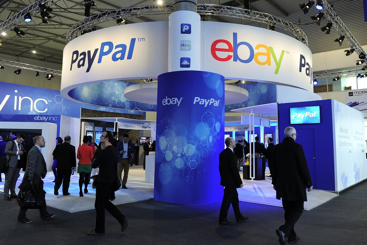 PayPal's shares fall after eBay announces new payment partner