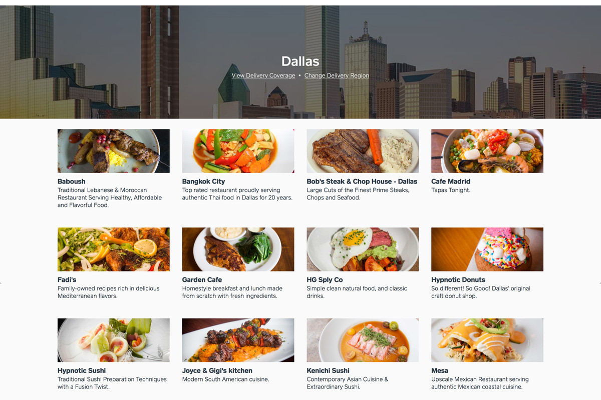 Caviar is the Latest Food Delivery App to Hit Dallas - Eater Dallas