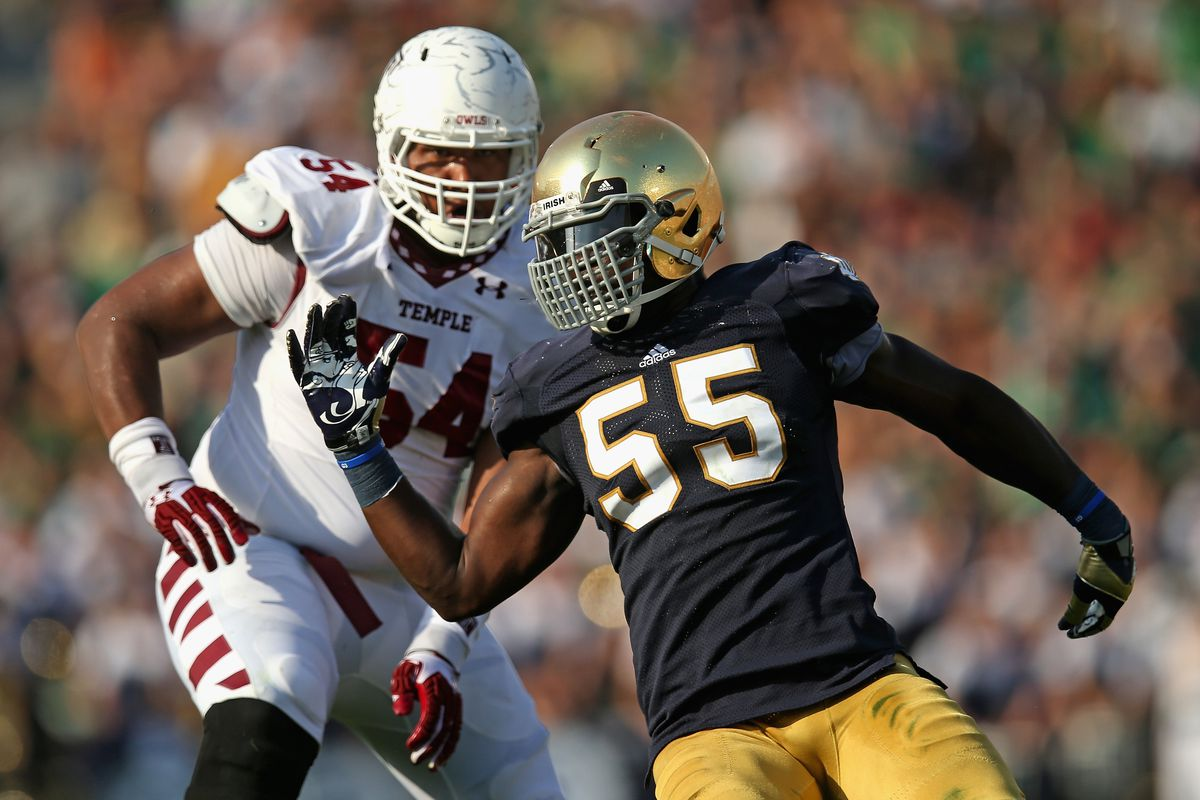 Prince Shembo will play a massive role in keeping Devin Gardner contained on Saturday night.