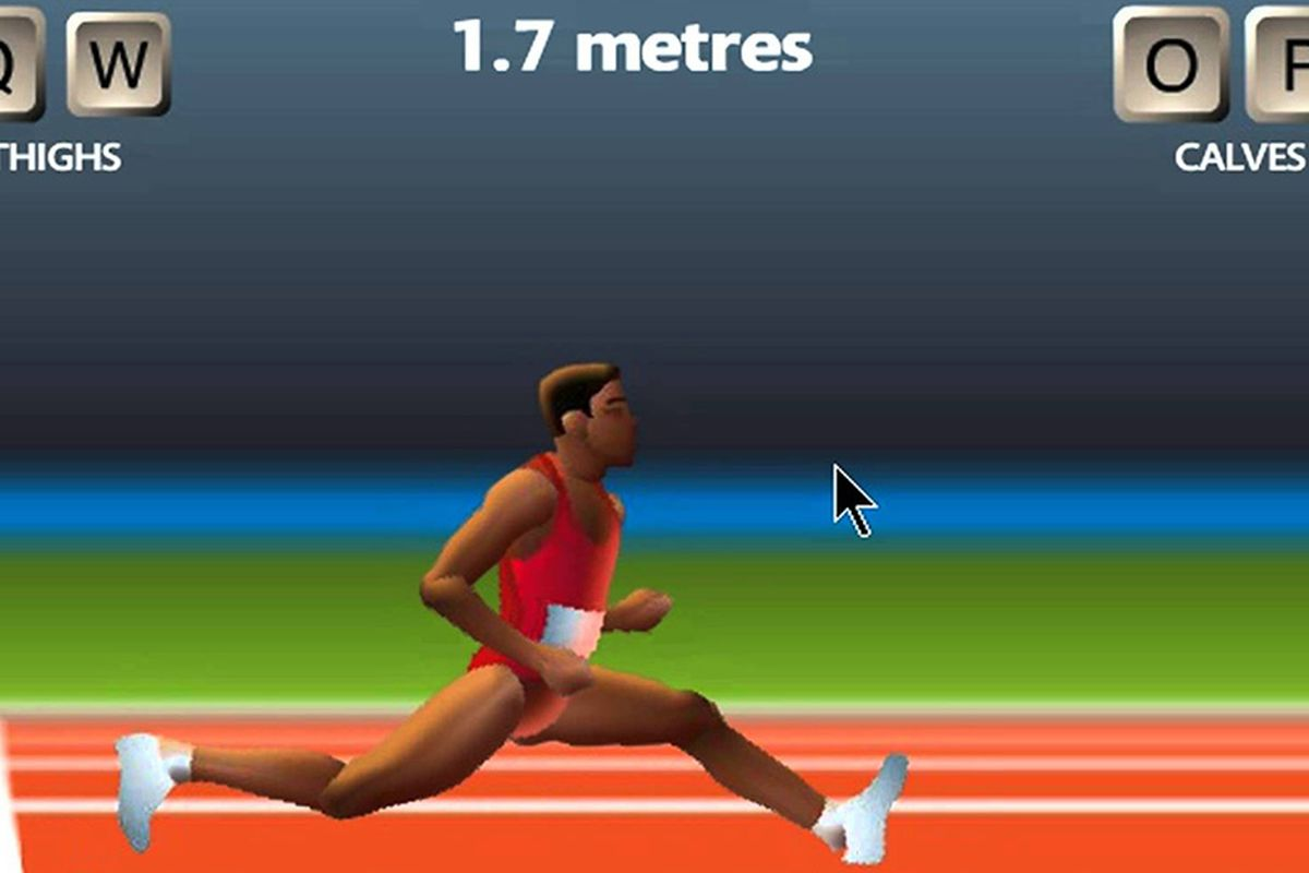 Two player qwop now available on pc mac linux for some a two player version of bennett foddys qwop the toughest track and field game ever made is now available to people who backed the sportsfriends ccuart Image collections