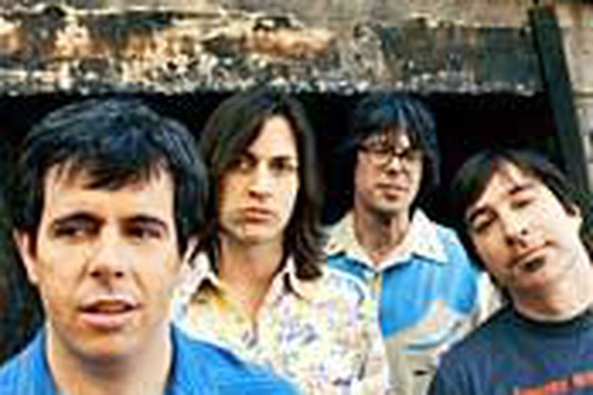 Members of Old 97's Philip Peeples, left, Rhett Miller, Murry Hammond, Ken Bethea have been performing their alt-country music for a decade.