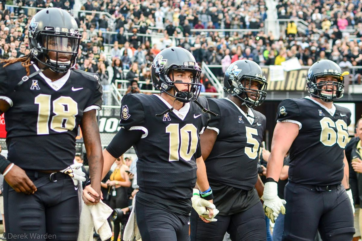 The Knights aren't worried about their CFP ranking. You shouldn't be either. (Photo: Derek Warden)