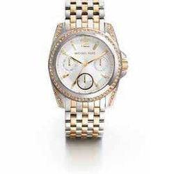 Michael Kors Mid-Size Two-Tone Stainless Steel Preseley Glitz Watch, $295