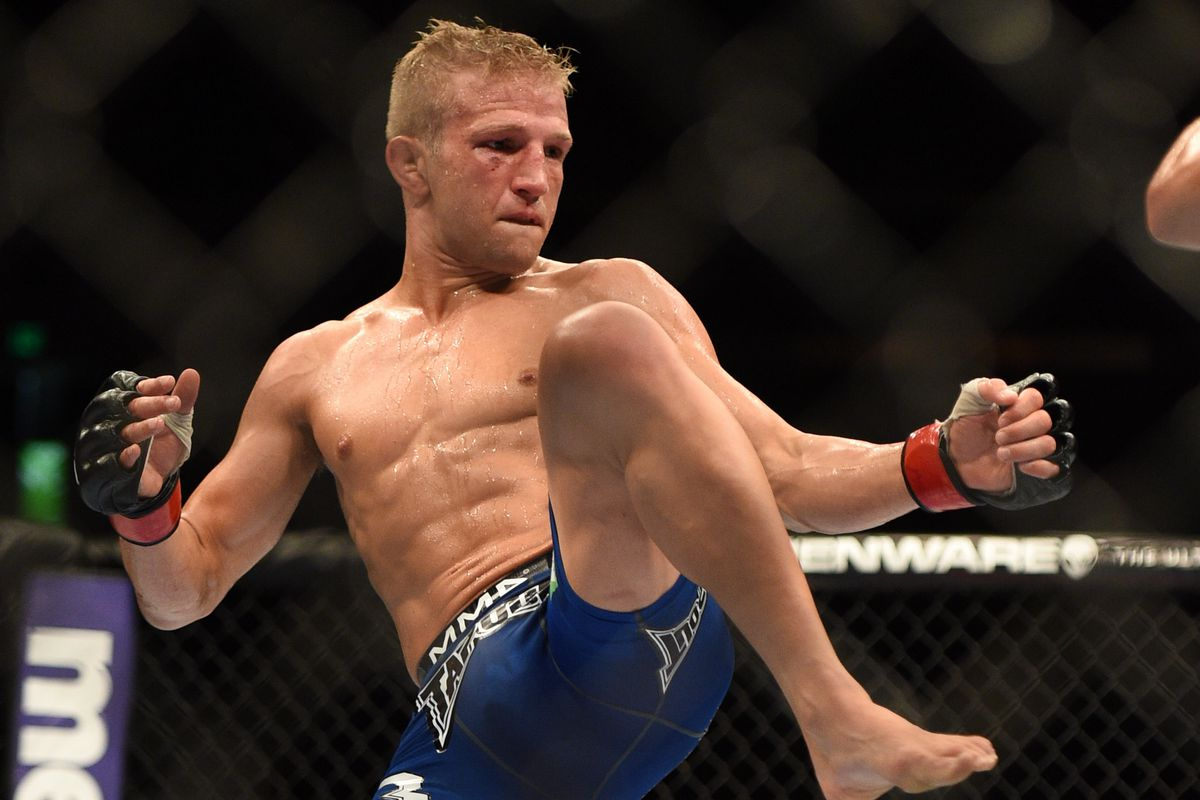 Other fighters have held world titles in two different weight classes but TJ Dillashaw is looking to be the first who moved down in weight to capture