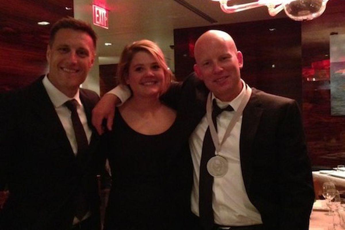 Frasca's Wine Team: Bobby Stuckey, Carlin Karr, Matthew Mathers