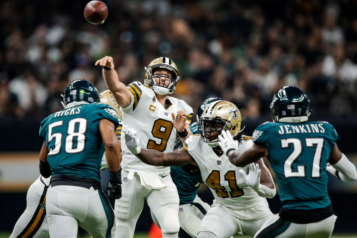 What time do the Saints play Sunday (today) and what TV ...