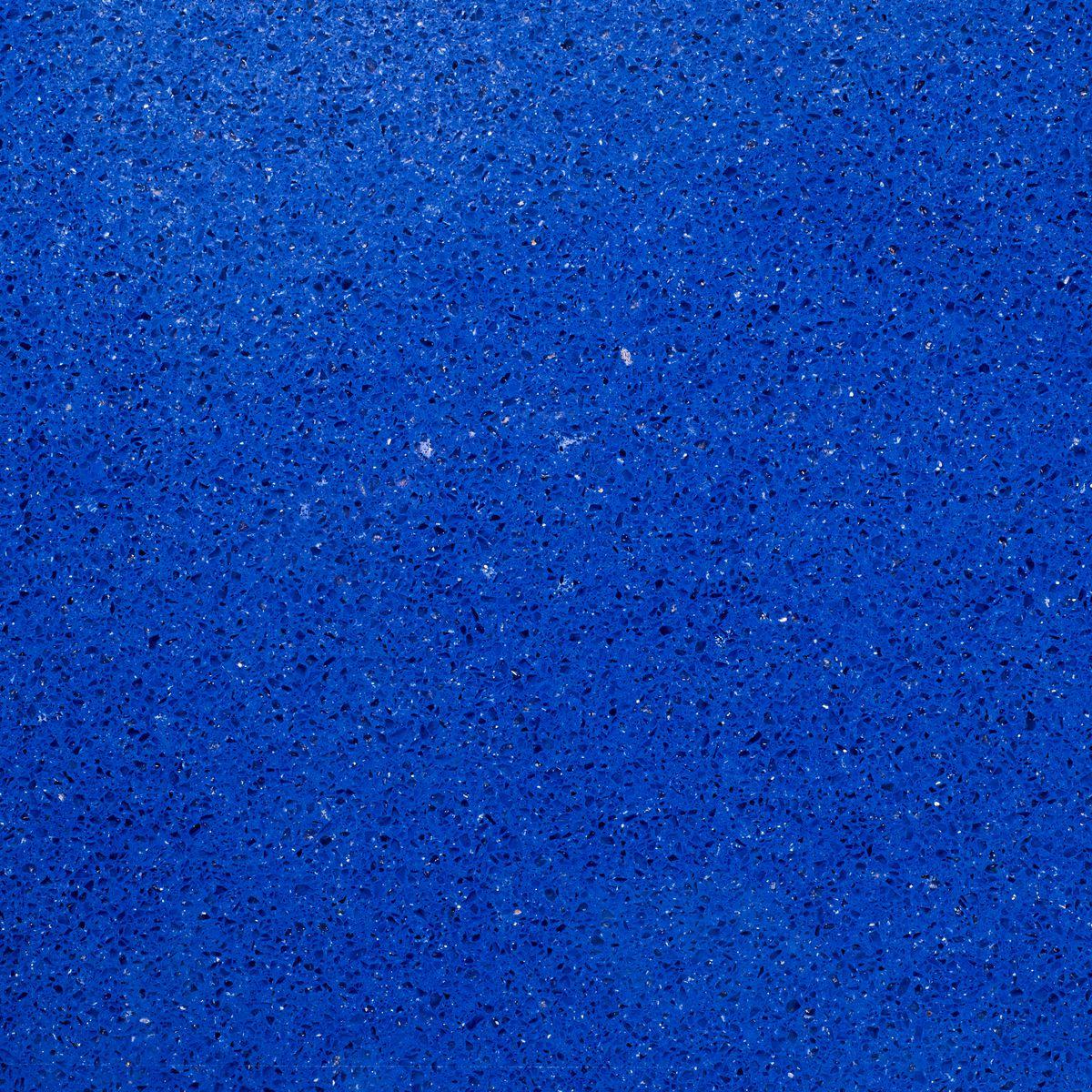 Cobalt blue quartz color option.