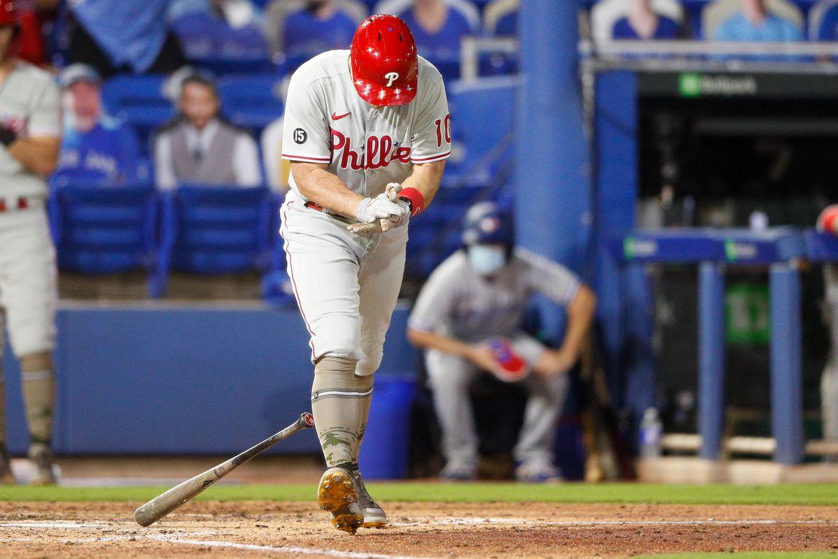 MLB: Philadelphia Phillies at Toronto Blue Jays