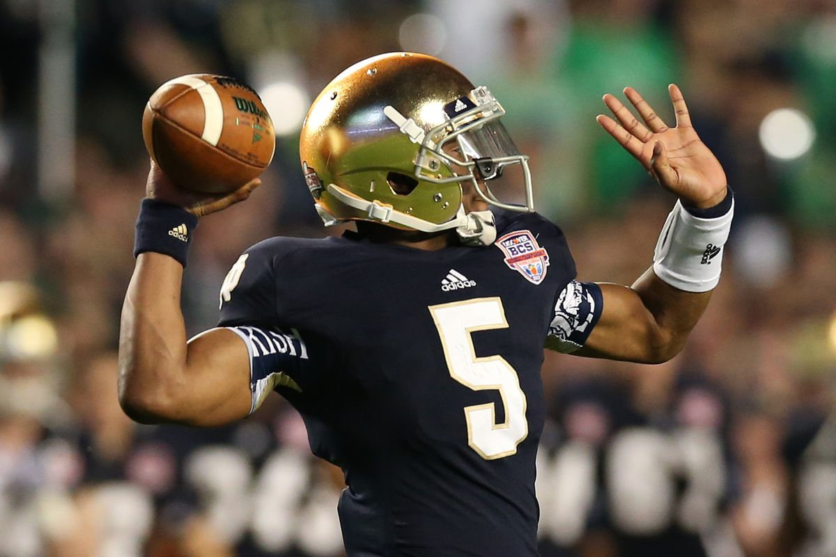 OFD's 2014 Notre Dame Football Prediction Thread - One Foot Down