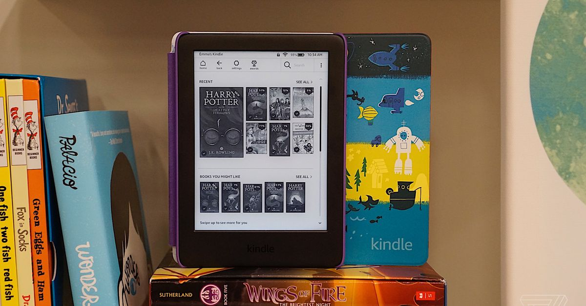 The Kindle Is Getting A Kids Edition Bundle For Younger