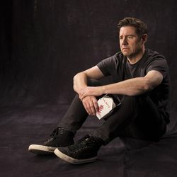"""Brian Vaughn as stars Brad in the Utah Shakespeare Festival's 2017 production of """"How to Fight Loneliness."""""""