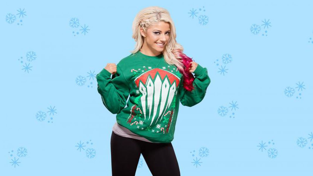 These ugly WWE Christmas sweaters aren't ugly at all - Cageside Seats