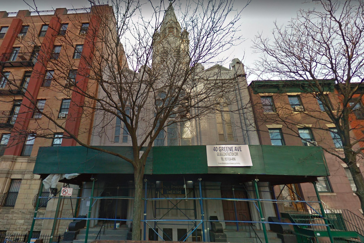 Fort Greene Subway Map.Fort Greene Church That Housed Paul Robeson Theatre Will Be Restored
