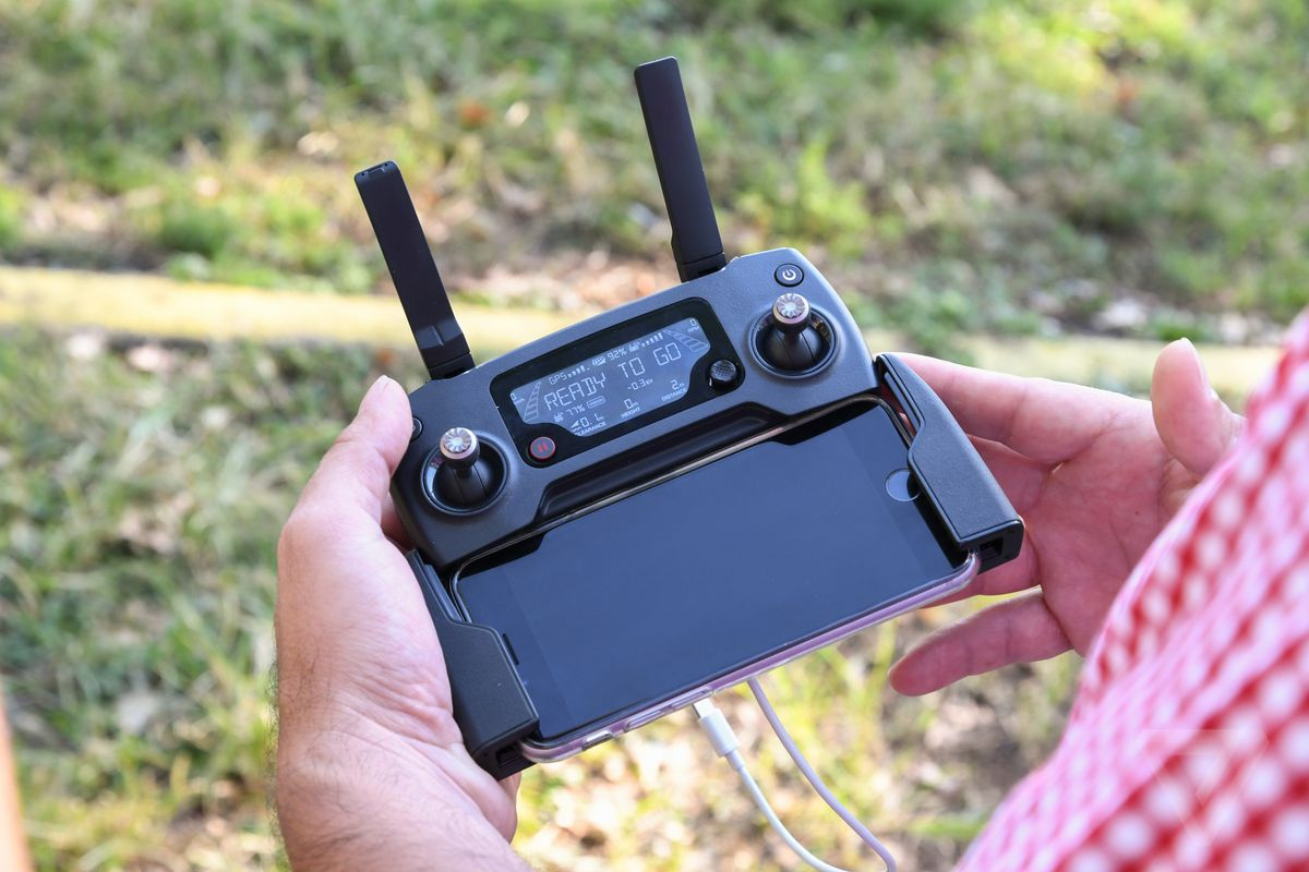 mavic drone remote