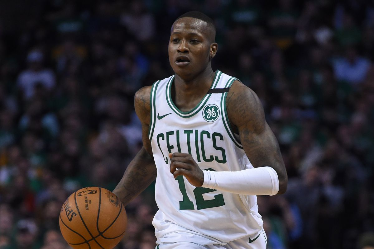 wholesale dealer b0c03 7ef35 Celtics' Terry Rozier Shows Eric Bledsoe EXACTLY who he is ...