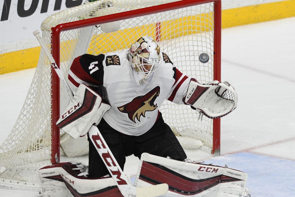 NHL: Arizona Coyotes at Nashville Predators