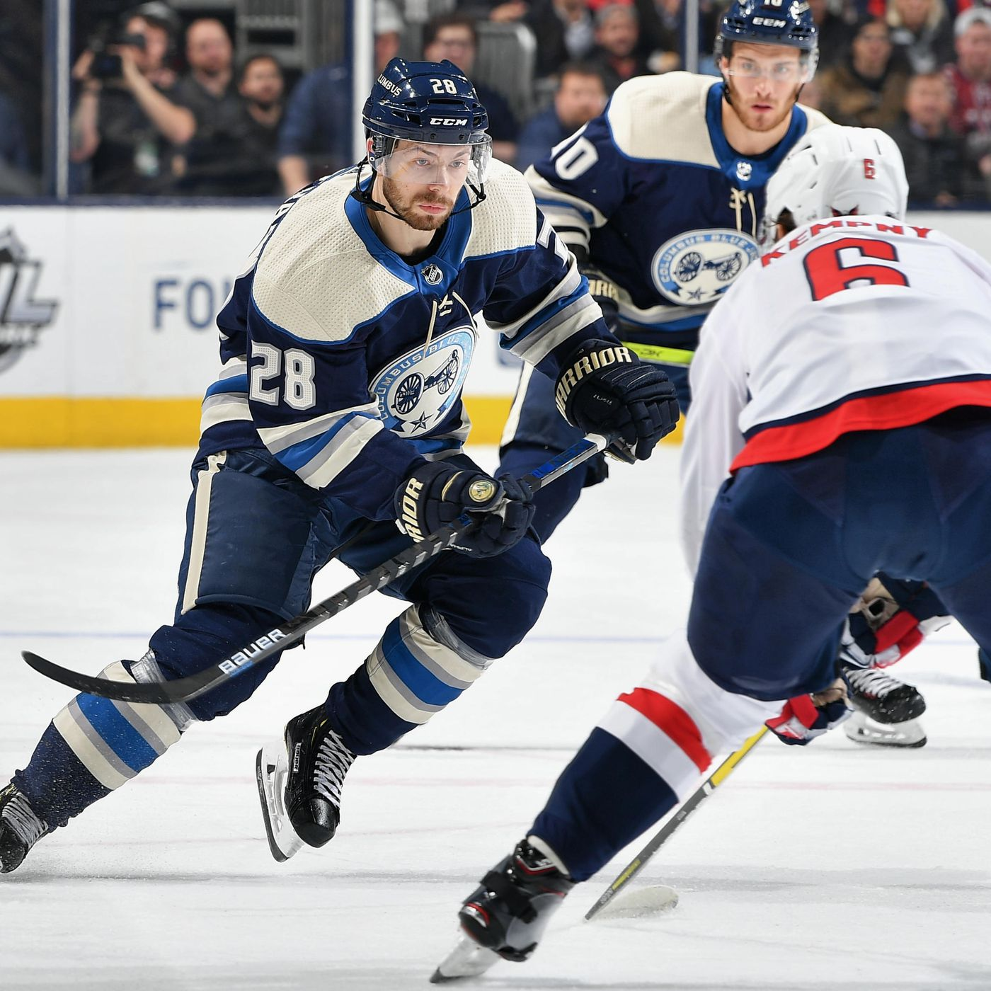 washington capitals hockey score