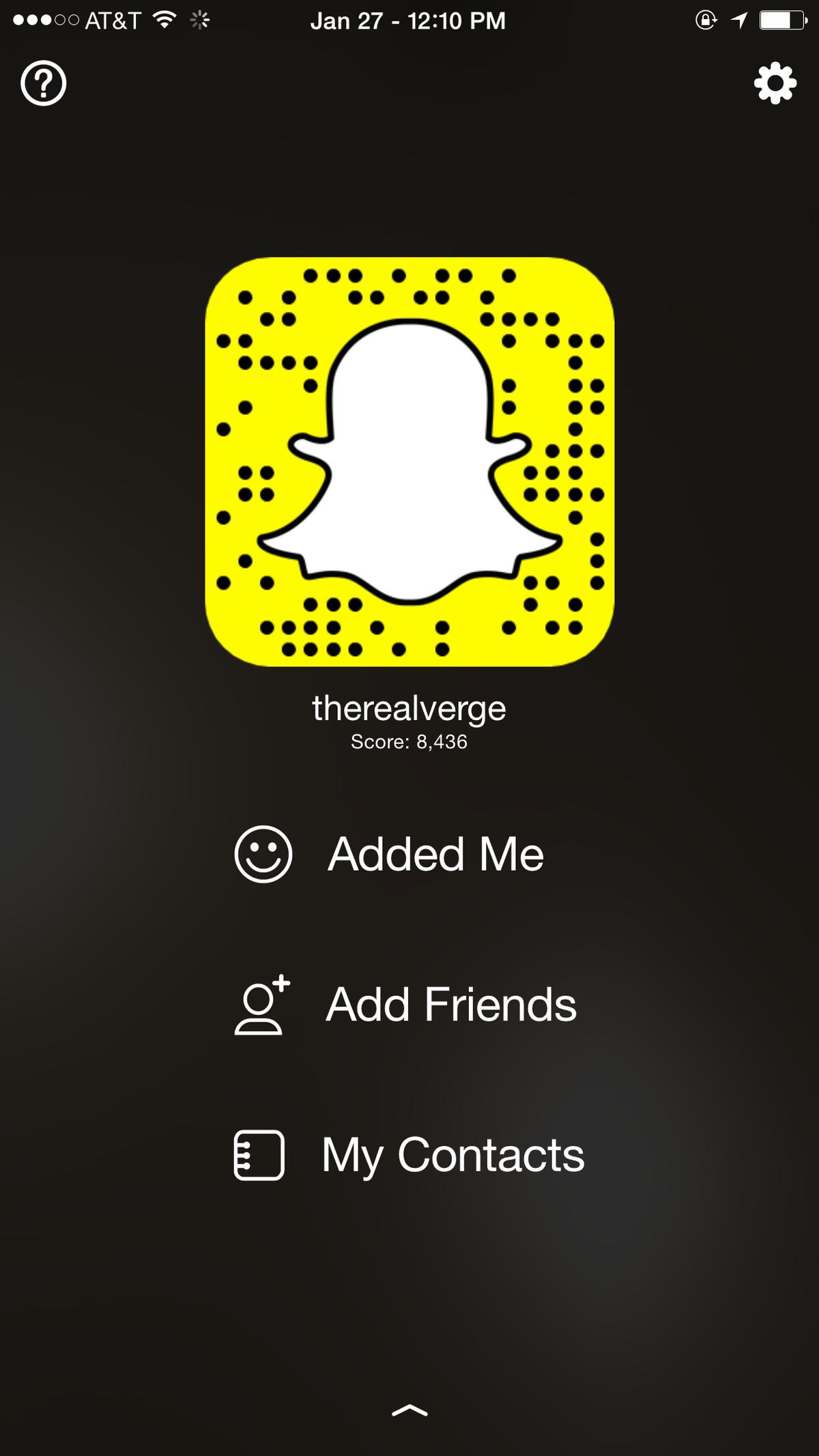 Snapchat Verge
