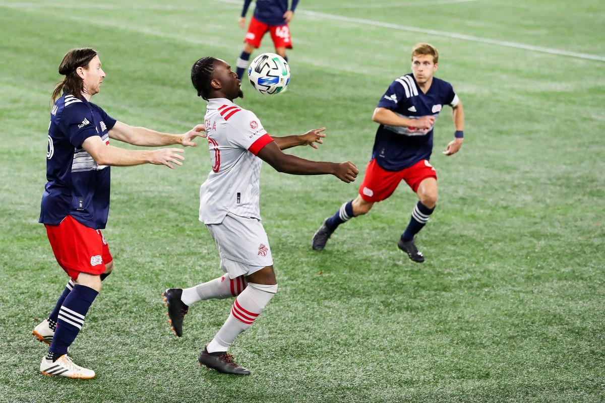 SOCCER: OCT 07 MLS - Toronto FC at New England Revolution