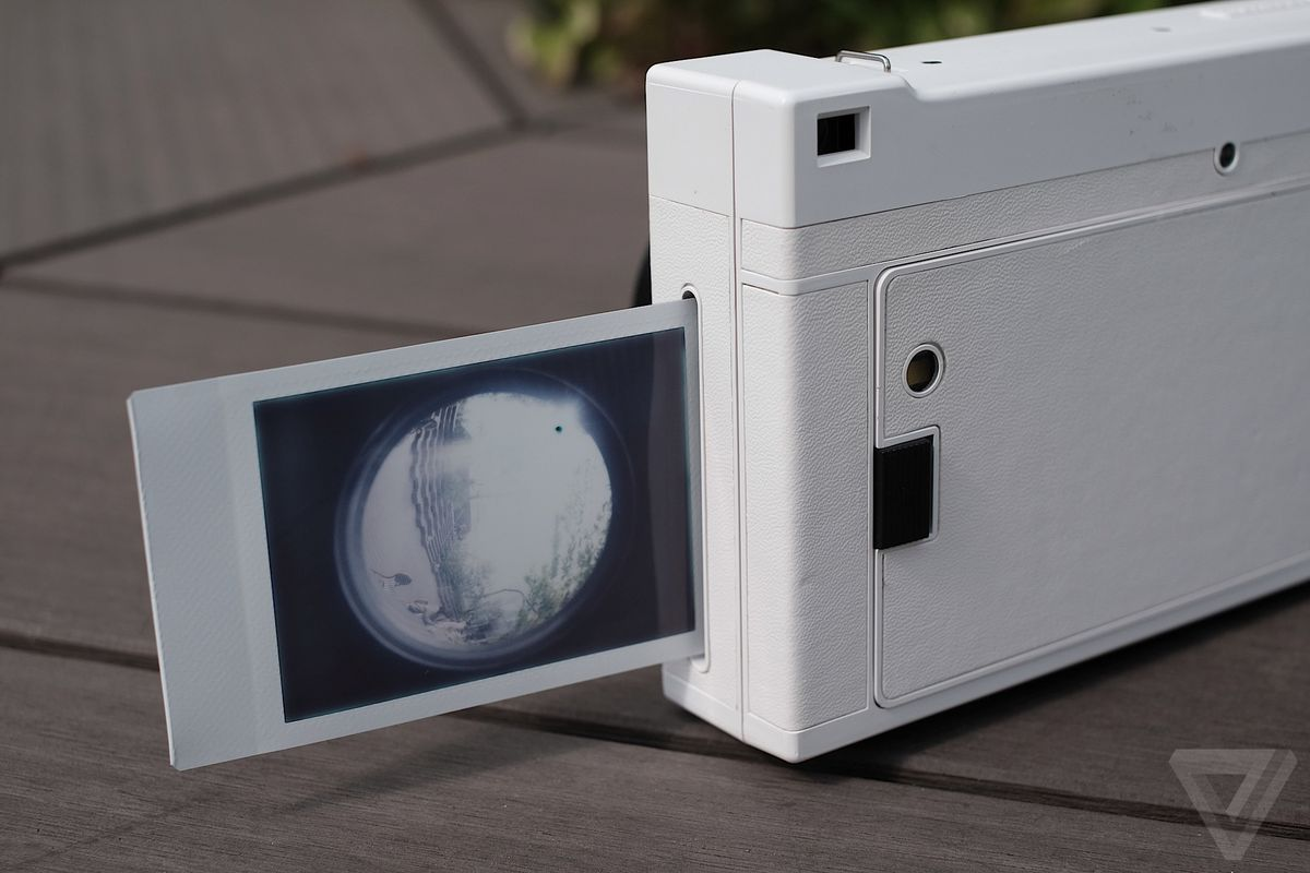 Has Lomography Made The Best Instant Camera Yet Verge Sanremo Edition Lomo Is A Big Boxy Thing With Its Sharp Angles Protruding Lens And Couple Of Inches Width On Mini 90 Not Sort You