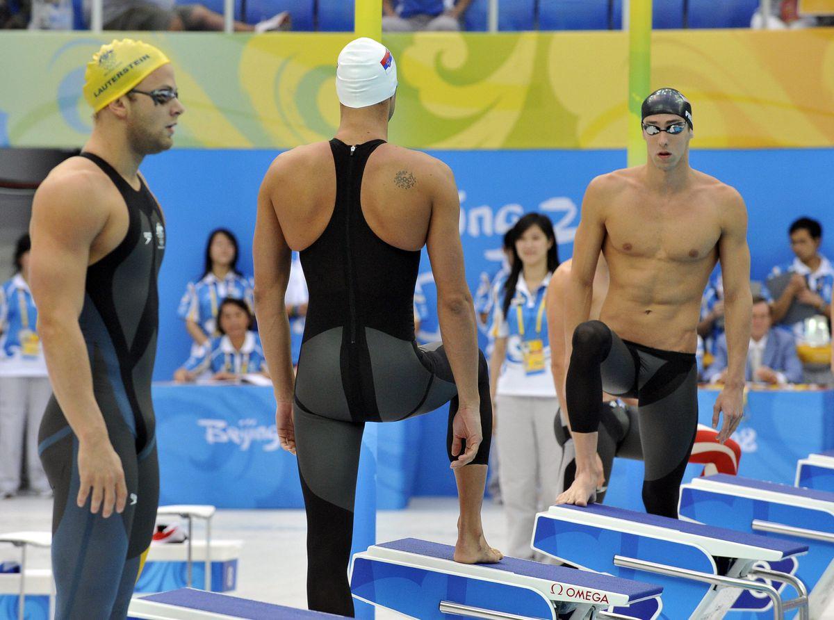 Lauterstein / Milorad Cavic / Michael Phelps