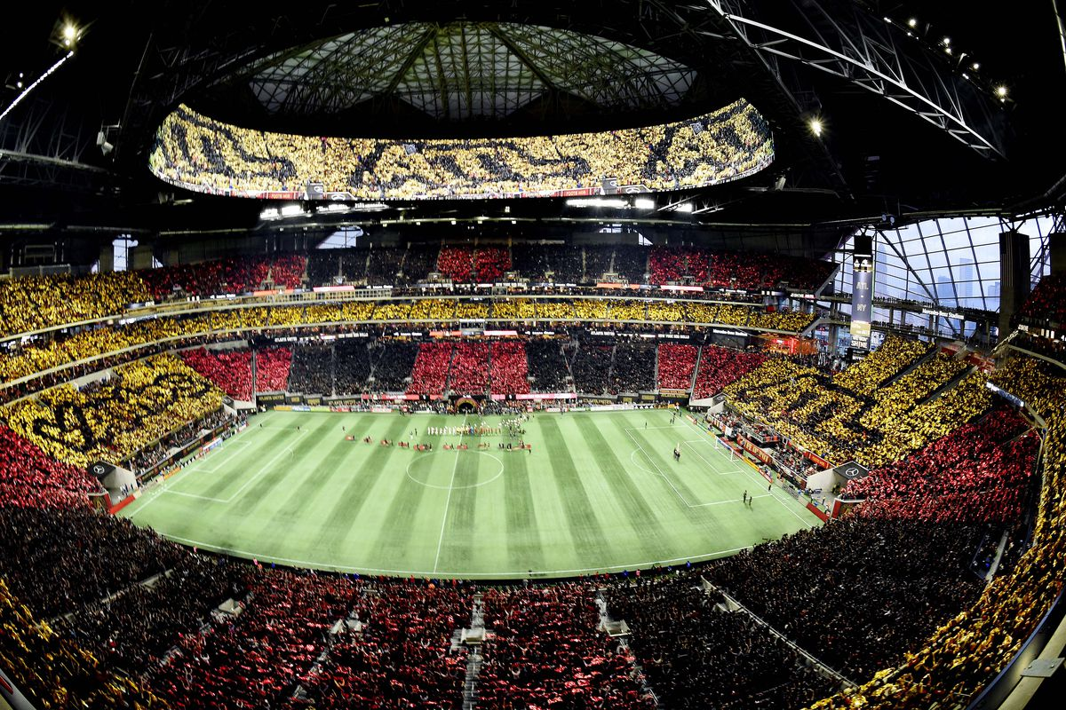 Mercedes Benz Portland >> Mercedes-Benz Stadium sold out for MLS Cup Final between ...