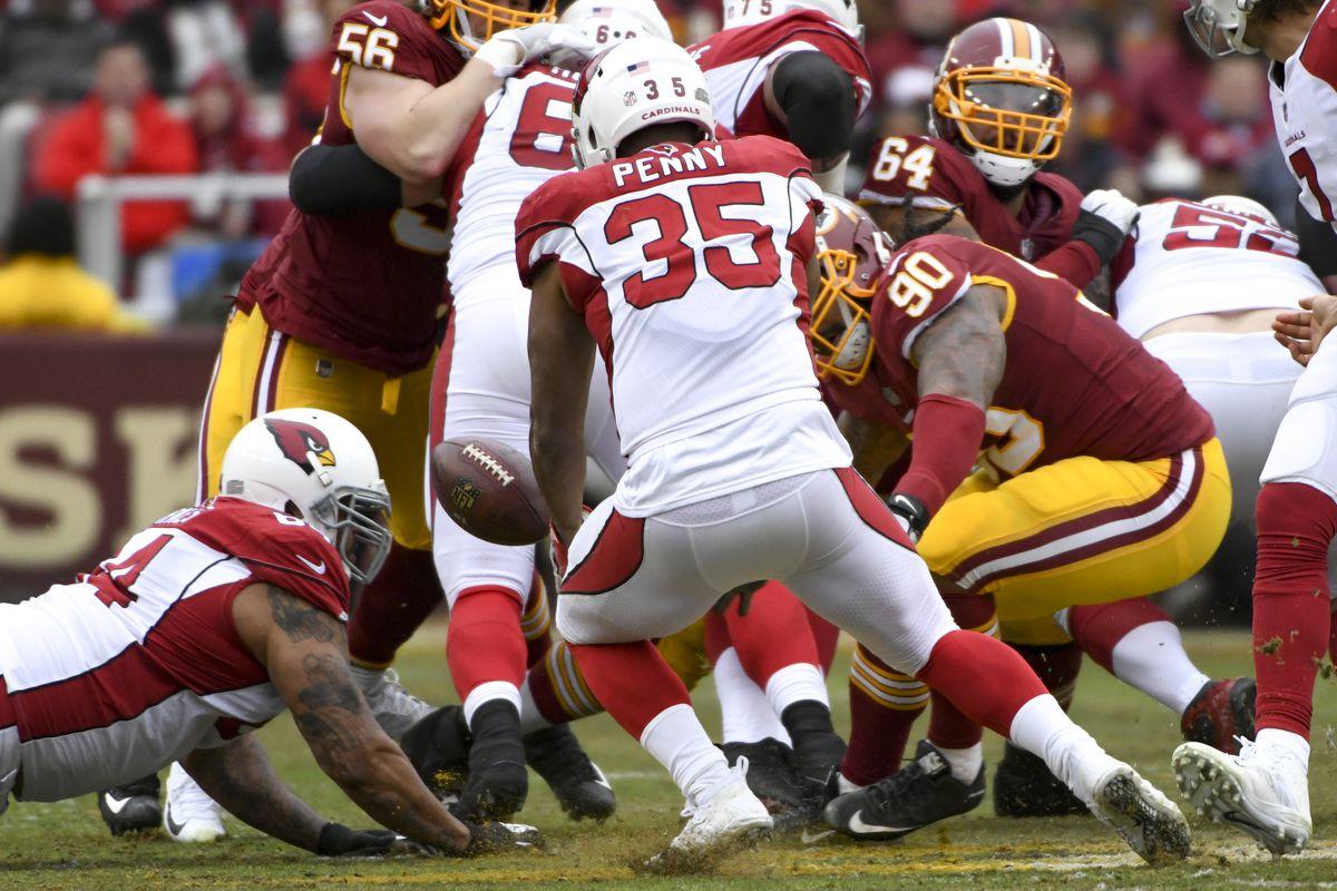 NFL: DEC 17 Cardinals at Redskins
