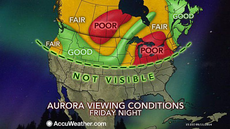 aurora viewing conditions
