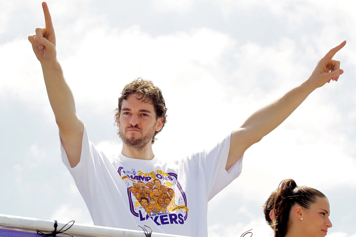 Los Angeles Lakers Victory Parade