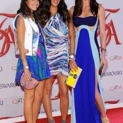 Leandra Medine, Rebecca Minkoff, and Hilary Rhoda