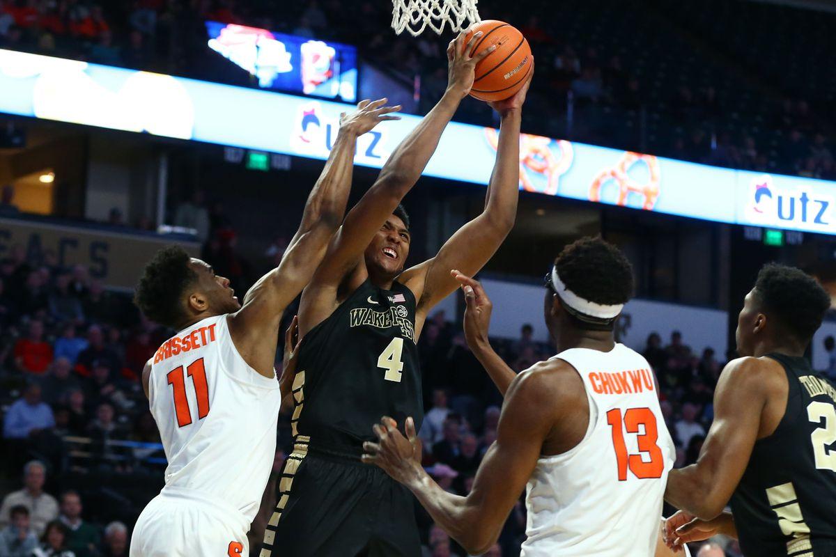 NCAA Basketball: Syracuse at Wake Forest