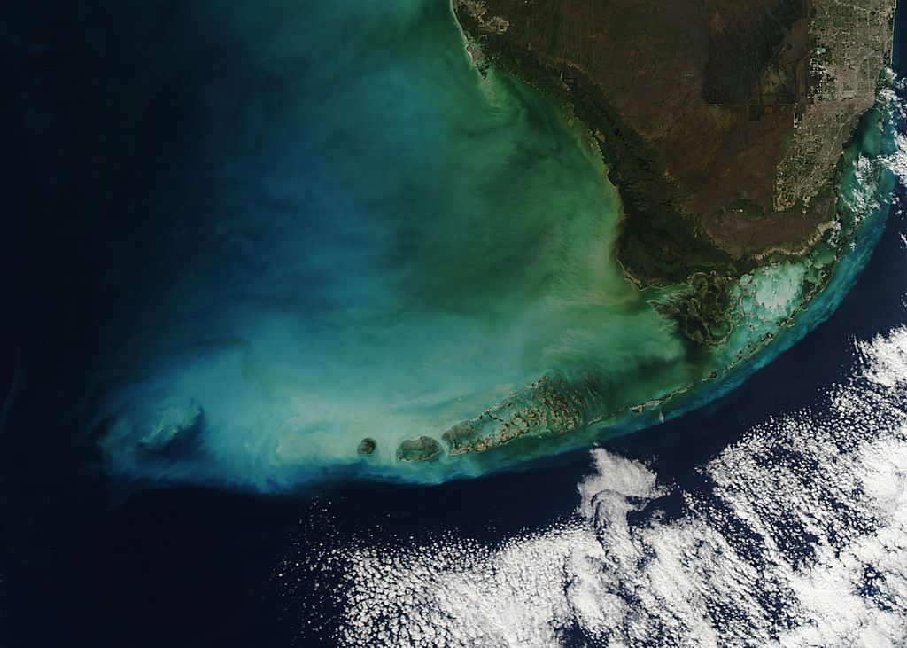 South Florida, a seen from Space. NASA