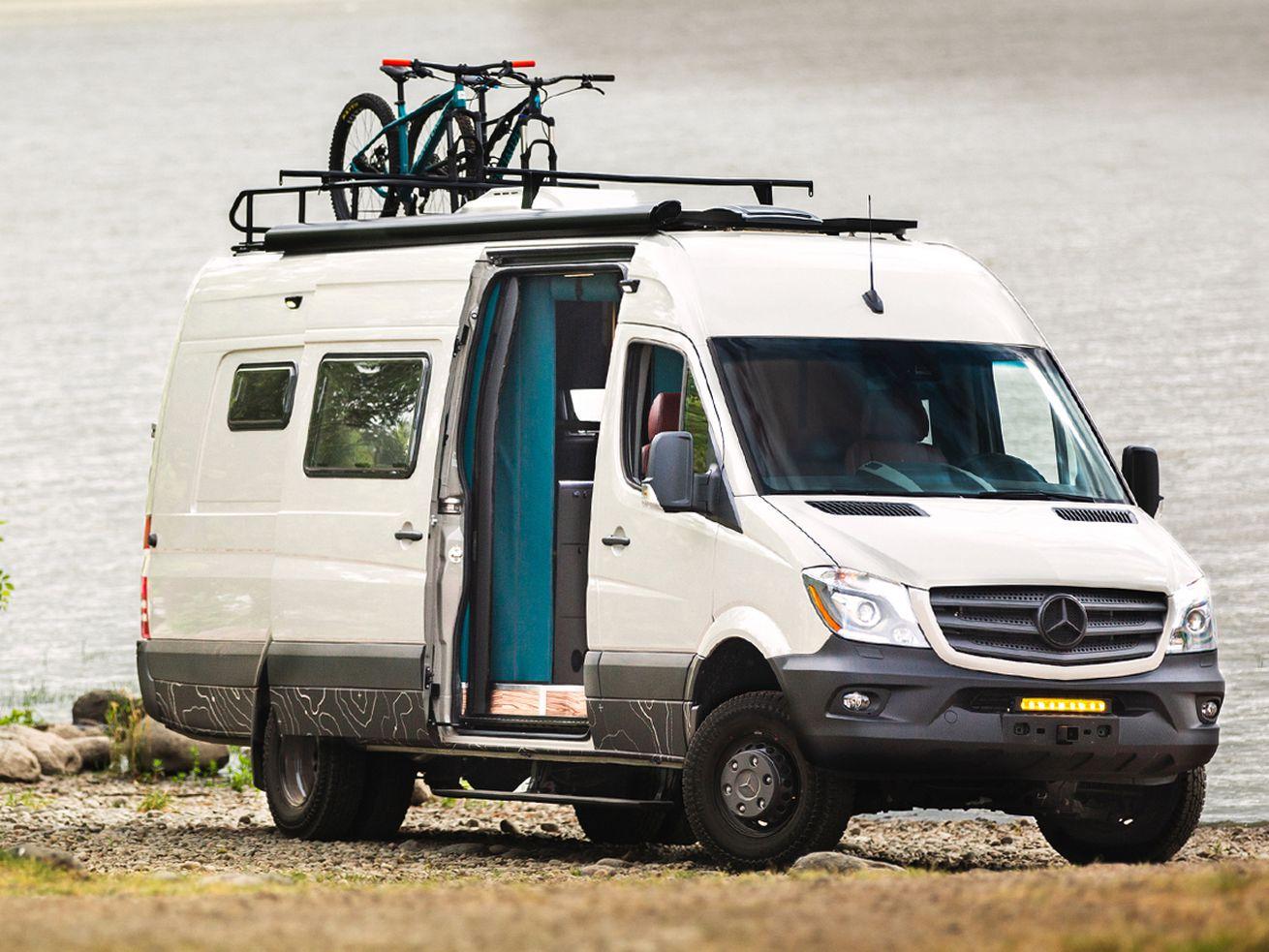 Dappercampervan combines luxury with adventure