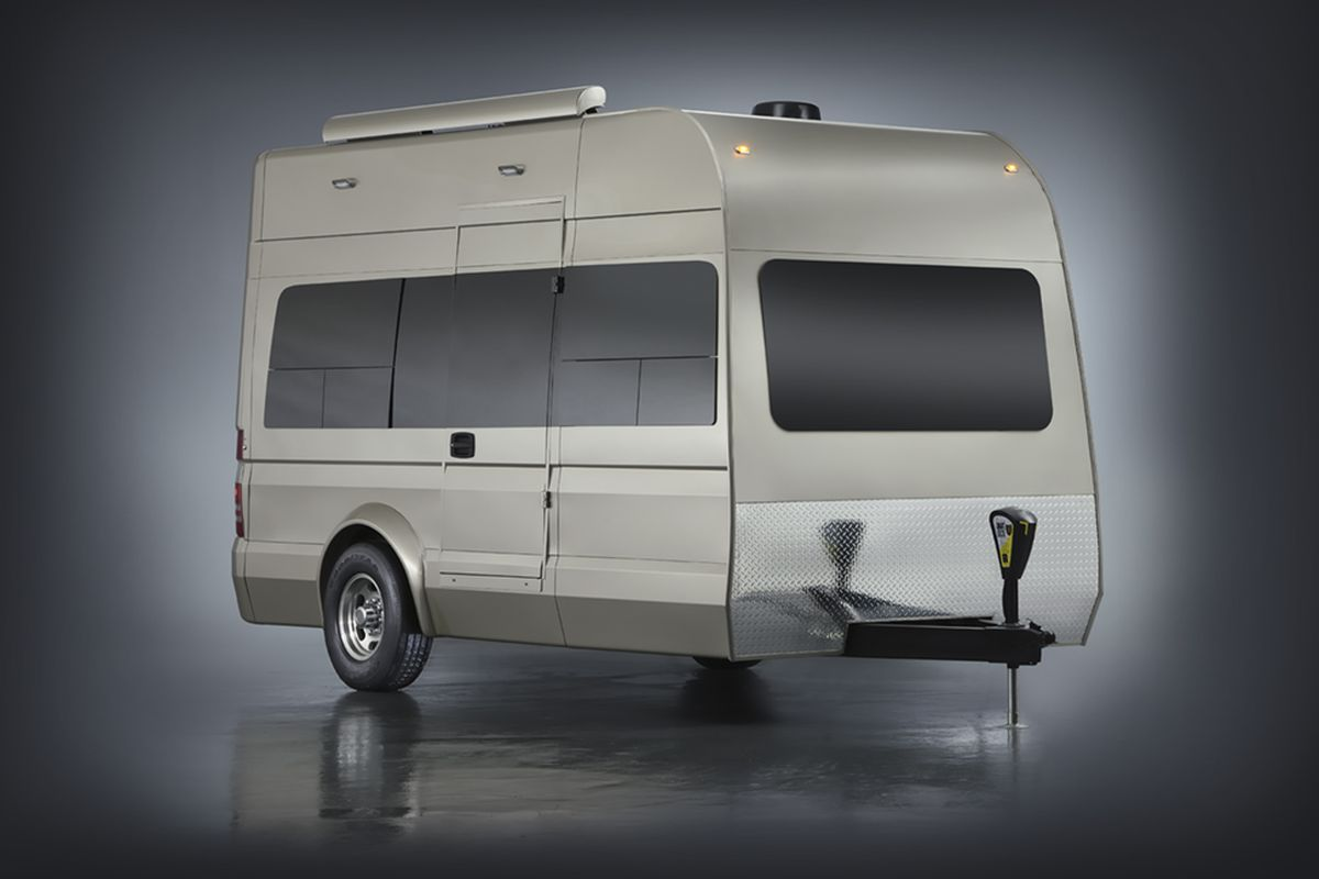 App Controlled Camper Trailer Can Haul A Smart Car Curbed